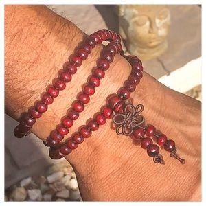 Other - 6mm Buddhist Buddha Wood Prayer Beads